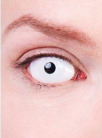 Lentilles de contact Sclera blanches