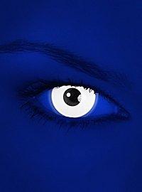 Lentilles de contact UV blanches