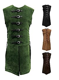 Leather jerkin  with buckles - Huntsman