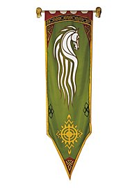 Lord of the Rings Banner of Rohan green