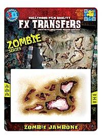 Mâchoire de zombie 3D FX Transfers