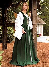 Mittelalter Kleid - Lucretia, grün