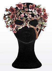 Magie fleurs de cerisiers Masque en cuir