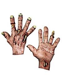Mains de mort-vivant couleur peau
