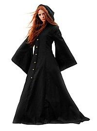 Manteau à capuche médiéval