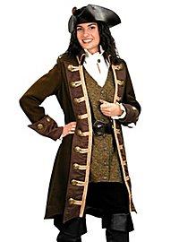 Manteau de femme pirate