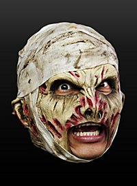Masque de zombie d'hôpital sans menton en latex