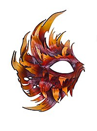 Masque en cuir - Phénix (marron)