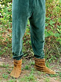 Medieval Velvet Pants green