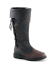 Men's boot Captain with lacing