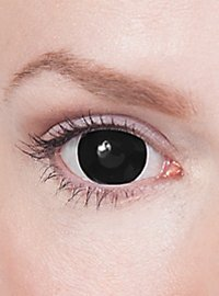 Mini-Sclera black contact lenses