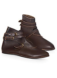 Mittelalter Schuhe mit 3 Schnallen - Thielemann
