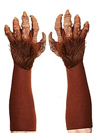 Monster Hands brown latex