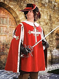 Wappenrock - Musketier, rot