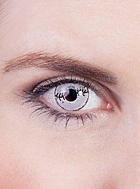 Narbe Kontaktlinsen