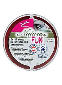 Natural cosmetics make-up red