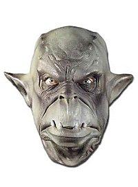 Masque en mousse de latex d'orc vert