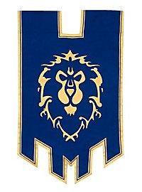 Original World of Warcraft Allianz Banner