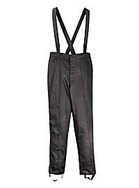 Pantalon à bretelles noir