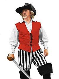 Pantalon de pirate à rayures