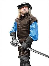Pantalon en cuir de mercenaire