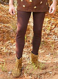 Pantalon médiéval marron