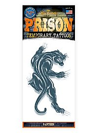 Panther Temporary Prison Tattoo