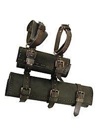 Double porte-épée - Rorik (noir)