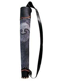 Köcher - Bogenschütze, grau/schwarz