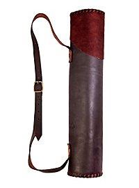 Pfeilköcher Scharfschütze groß braun