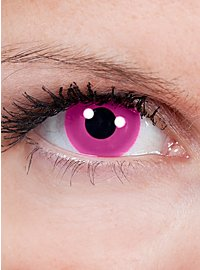 Pink Manga Special Effect Contact Lens