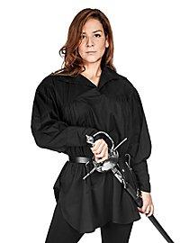 Medieval shirt - Bernadette black