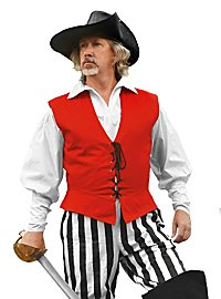 Pirate's Vest red