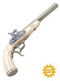 Pistolet à percussion (couleur ivoire)