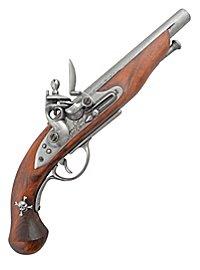 Pistolet à platine de silex de pirate - français (gris)