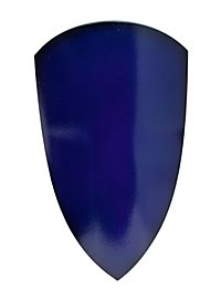 Reiterschild blau Polsterwaffe
