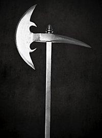 Renaissance battle axe - crescent with raven beak - B-Ware