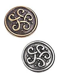 Rivet décoratif - Souverain celtique
