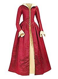 Robe «Reine d'Écosse» bordeaux