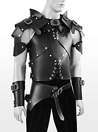 Leather armour set - Rogue, black
