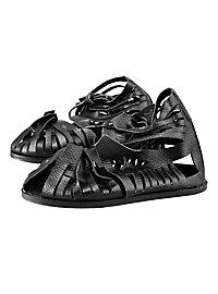 Roman Sandals - Marius (black)