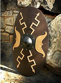Roman Wooden Shield Oval