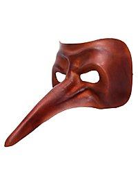 Scaramouche de cuoio Commedia dell´Arte Leather Mask