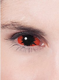Sclera orange Kontaktlinsen