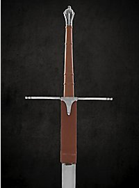 Scottish claymore with leather wrapped handle - B-Ware