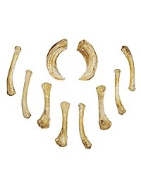 Set of Resin Bones - Soothsayer (10 Pieces)