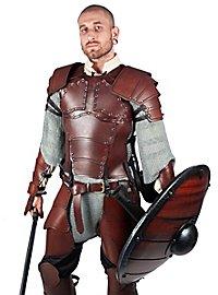 Lederrüstung mit Schultern - Söldner braun