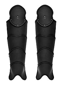 Beinschienen - Späher schwarz