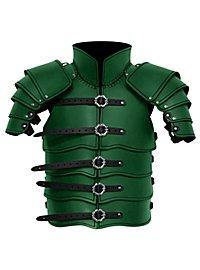 Lederrüstung mit Schultern - Späher grün