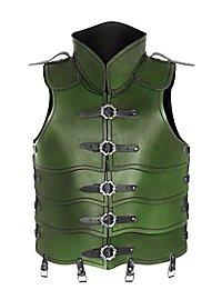 Lederrüstung - Späher grün